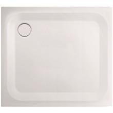 CONCEPT 200 sprchová vanička 90x75x2,5cm, obdélníková ocel, bílá