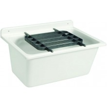 NICOLL ABU mycí vanička 610x455mm bez mřížky, plast, šedá