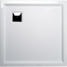 POLYSAN AVELIN sprchová vanička 900x900mm s podstavcem, akrylát, bílá