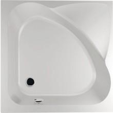 POLYSAN CARMEN sprchová vanička 900x900x300mm, hluboká, bez nožiček, akrylát, bílá