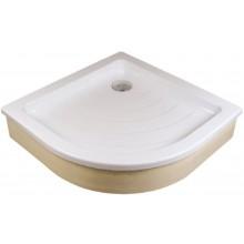 RAVAK RONDA 80 EX sprchová vanička 805x805mm, akrylátová, čtvrtkruhová, bílá