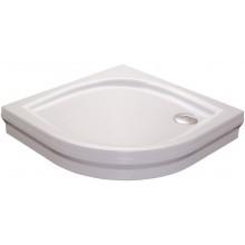 RAVAK ELIPSO 80 PAN sprchová vanička 800x800mm akrylátová, čtvrtkruhová, bílá