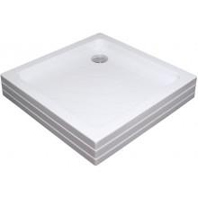 RAVAK ANGELA 90 PU sprchová vanička 905x905mm akrylátová, čtvercová bílá A007701120
