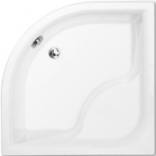 ROTH VIKI LUX sprchová vanička 900x900x480mm R550 hluboká, akrylátová, čtvrtkruhová, bílá