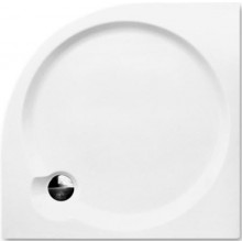 ROTH DREAM-P sprchová vanička 800x800x125mm, R550, samonosná, akrylátová, čtvrtkruhová, bílá