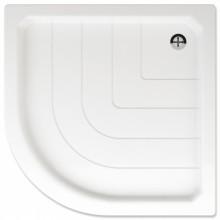 TEIKO SANO 80 sprchová vanička 80x80x7cm, R55cm, čtvrtkruh, akrylát, bílá