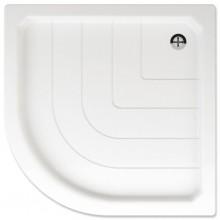 TEIKO SANO 90 sprchová vanička 90x90x6cm, R55cm, čtvrtkruh, akrylát, bílá