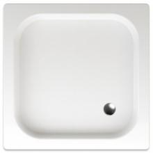 TEIKO IKARIA sprchová vanička 80x80x8cm, čtverec, s protiskluzem, akrylát, bílá
