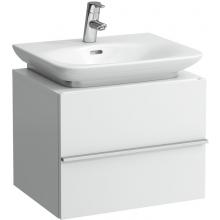 LAUFEN CASE skříňka pod umyvadlo 550x430x425mm se 2 zásuvkami, bílá 4.0115.2.075.463.1
