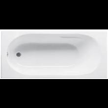 JIKA LYRA vana klasická 1600x700mm akrylátová, včetně podpěr, bílá