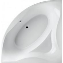 SANTECH SOLO vana 150x150cm, bez nožiček, rohová, akrylát, bílá
