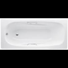 JIKA ALMA vana klasická 1600x750x390mm ocelová, bez madel, bílá