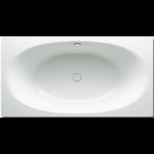 KALDEWEI ELLIPSO DUO 230 vana 1900x1000x450mm, ocelová, obdélníková, bílá 286000010001