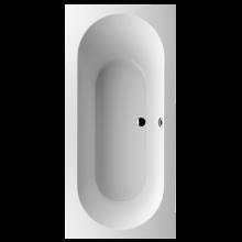 VILLEROY & BOCH OBERON vana 1900x900mm obdélníková, včetně noh, quaryl, bílá Alpin