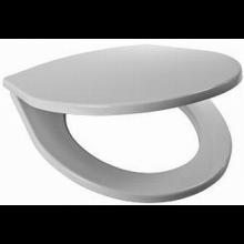 JIKA LYRA PLUS klozetové sedátko s poklopem, termoplastové, s plastovými úchyty, pro kombi klozety, bílá