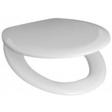 EASY WC sedátko 370x400-440mm, duroplast, kov. úchyty, bílá