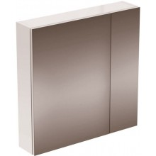 Nábytek zrcadlová skříňka Ideal Standard Strada 700x151x700mm lak dekor hliník