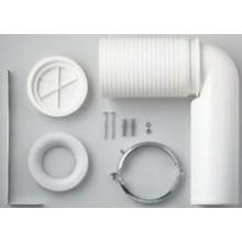 LAUFEN odpadní koleno 70-220mm, plast