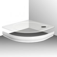 ROLTECHNIK TAHITI-M 900 čelní panel 900mm, čtvrtkruh, krycí, akrylátový, bílá