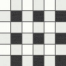 Dekor Rako Tendence 5x5 (30x30) cm bílo-černá