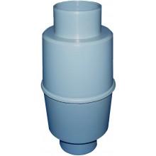 HL zápachový uzávěr DN110 potrubní, do svislého potrubí, polypropylen