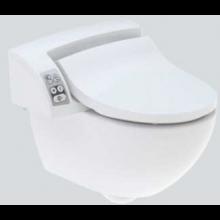 GEBERIT AQUACLEAN 5000 PLUS bidetovací sedátko s keramikou 48,5x55x35,6cm, alpská bílá