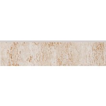 RAKO TRAVERTIN sokl 30x7,2cm, béžová