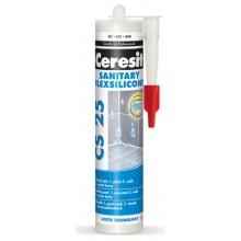 CERESIT CS 25 SANITARY silikon 280ml, sanitární, bílá