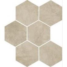 MARAZZI CLAYS dlažba, 21x18cm šestiúhelník, cotton