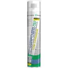 DEN BRAVEN nízkoexpanzní pěna 750ml, jednosložková, zelená
