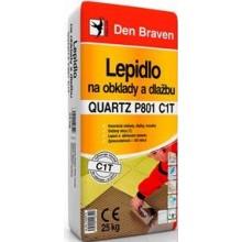 DEN BRAVEN QUARTZ PROFI 801 C1 stavební lepidlo 25kg, cementové, na obklady a dlažbu, šedá