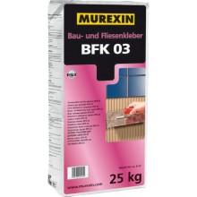 MUREXIN BFK 03 stavební lepidlo 25kg, obkladové, mrazuvzdorné, pro tenkovrstvé lepení obkladů a dlažeb