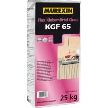 MUREXIN FLEX KGF 65 lepící malta 25kg, flexibilní, vodovzdorná, mrazuvzdorná, pro tenkovrstvé lepení, šedá
