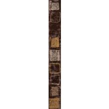 RAKO CONCEPT MONOPOLI listela 4,5x40cm hnědá WLAMH011
