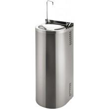 SANELA SLUN43S pitná fontána 350x360x940mm, ke stěně, s tlačnou pitnou armaturou, armaturou pro napouštění sklenic, nerez