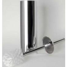 GOZ METAL podstavec 83x83x340mm, s WC štětkou, mosaz, chrom