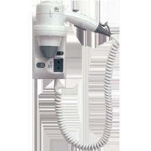VORTICE VORT FOHN 1200 PLUS vysoušeč vlasů 600/1200W ruční, nástěnný, zásuvka na holící strojek, ABS VO