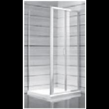 JIKA LYRA PLUS sprchové dveře pravolevé skládací 900x1900mm, stripy