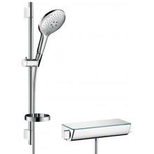HANSGROHE RAINDANCE SELECT S 150 ECOSTAT SELECT sprchový set 718mm, s termostatem, ruční sprchou, mýdlenkou, chrom