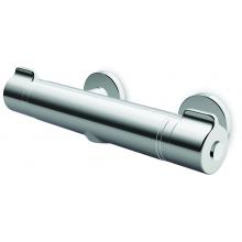 LAUFEN CURVEPRIME sprchová baterie, nástěnná, termostatická, bez sprchového příslušenství, chrom