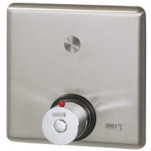SANELA SLS02PT piezo ovládání sprchy 24V DC, s termostatickým ventilem pro teplou a studenou vodu, antivandal, nerez