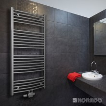 Radiátor koupelnový Korado 450/900 Koralux Rondo Exclusive - M  chrom