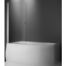 ROLTECHNIK TV1/800 vanová zástěna 800x1400mm, oboustranně otevíratelná, stříbro/transparent