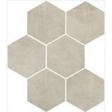 MARAZZI CLAYS dlažba, 21x18cm šestiúhelník, shell