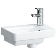 LAUFEN PRO S umývátko asymetrické 360x250mm s otvorem, bílá 8.1596.0.000.104.1