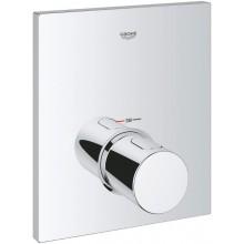 GROHE GROHTHERM F termostatická krytka 210x171mm, vrchní díl, chrom