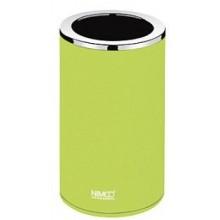 NIMCO PURE pohárek na kartáčky 72x72x127mm, žlutozelená/chrom