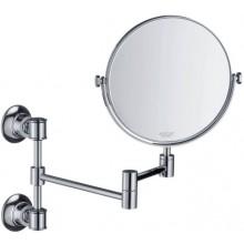 HANSGROHE AXOR MONTREUX zrcadlo na holení 170mm, kov, kartáčovaný nikl
