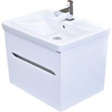 EDEN BERYL skříňka pod umyvadlo 566x425x540cm, závěsná, bílá/lesk