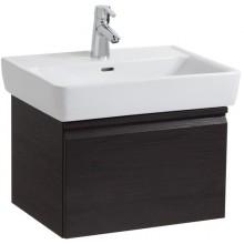 LAUFEN PRO skříňka pod umyvadlo 570x450x392mm, s 1 zásuvkou a vnitřní zásuvkou, wenge